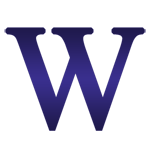 Purple Microsoft Word Icon