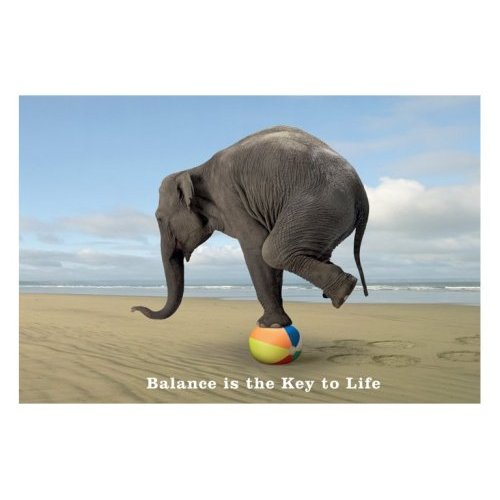 Balance is key to life