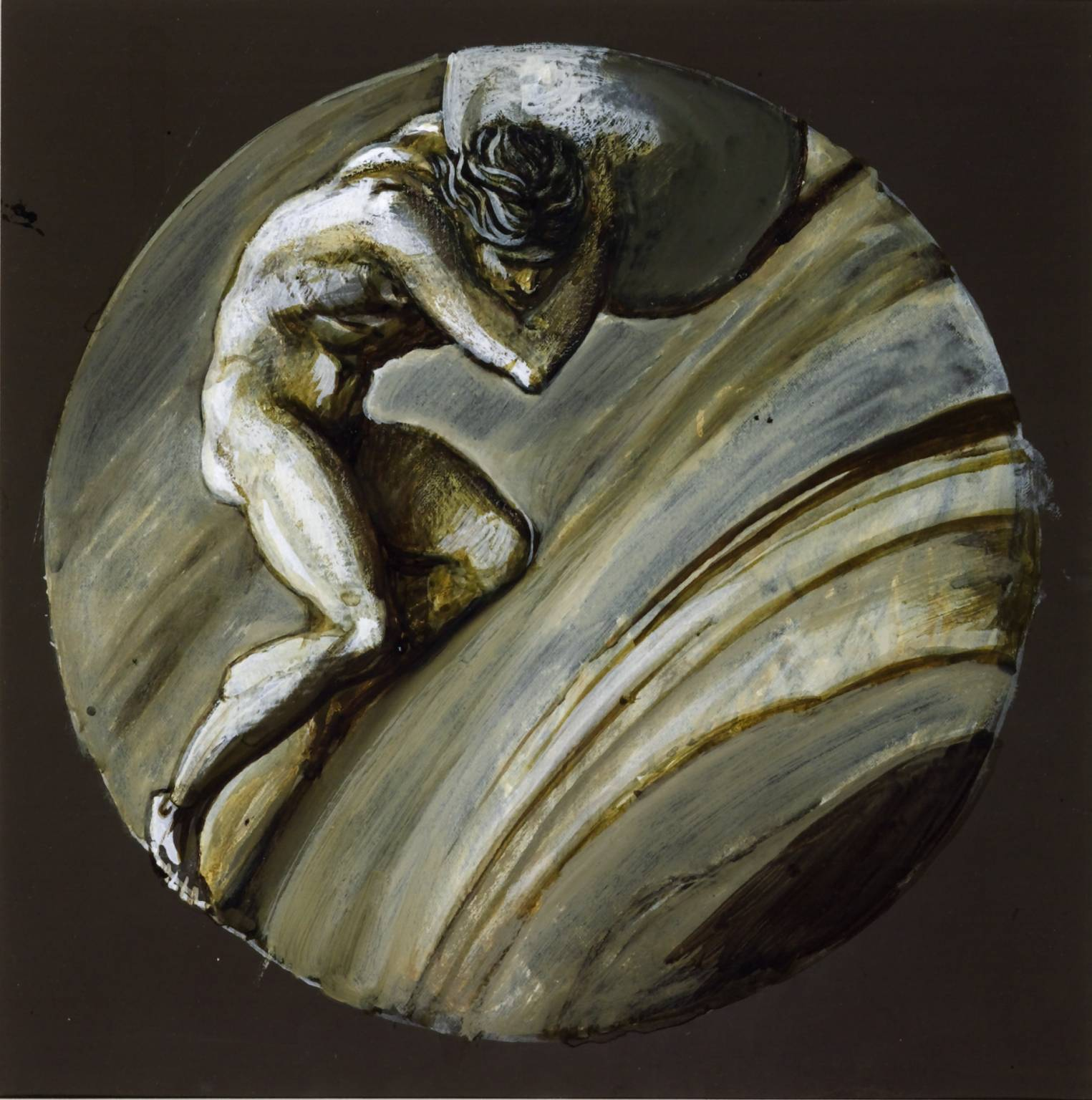 Myth of Sisyphus Art Greek Myth Sisyphus Was